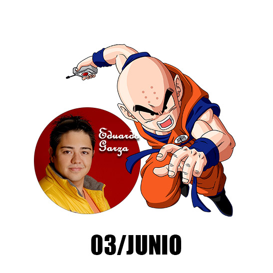 Eduardo Garza en Animekonsato